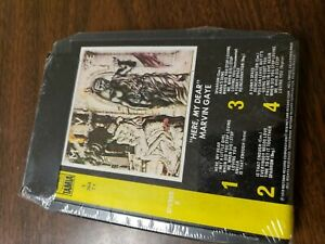 VINTAGE-8-TRACK-TAPE-MARVIN-GAYE-HERE-MY-DEAR-TAMIA-T364T1-shrinkwrapped-New
