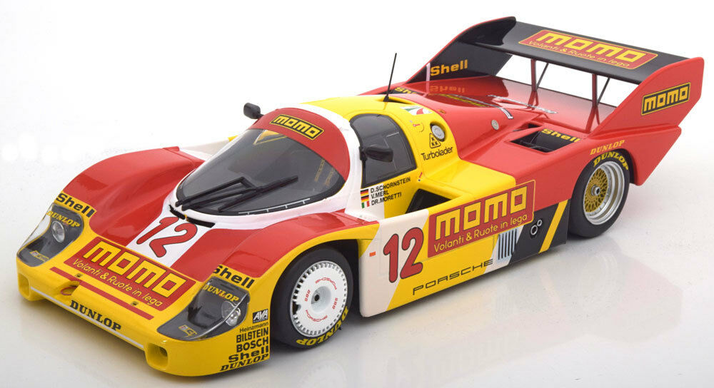 Minichamps Porsche 956K 1000 km Mugello 1983  12 in 1 18 Scale LE 504 New