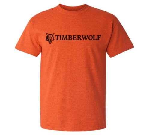 Timberwolf chipper logo t-shirt arbre chirurgie//arboriste//escalade//usage forestier
