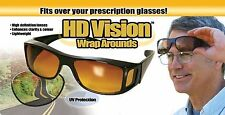 As Seen On Tv HD High Definition Vision Driving Sunglasses Daytime Wrap Around