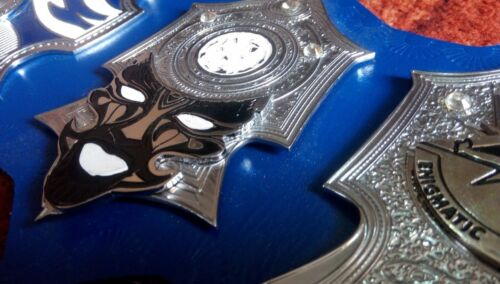 Jeff Hardy Enigmatic Championship Belt Dual Replica Leather Plated Belt