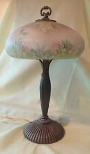 Fenton Glass Limited Edition Reverse Painted Lamp