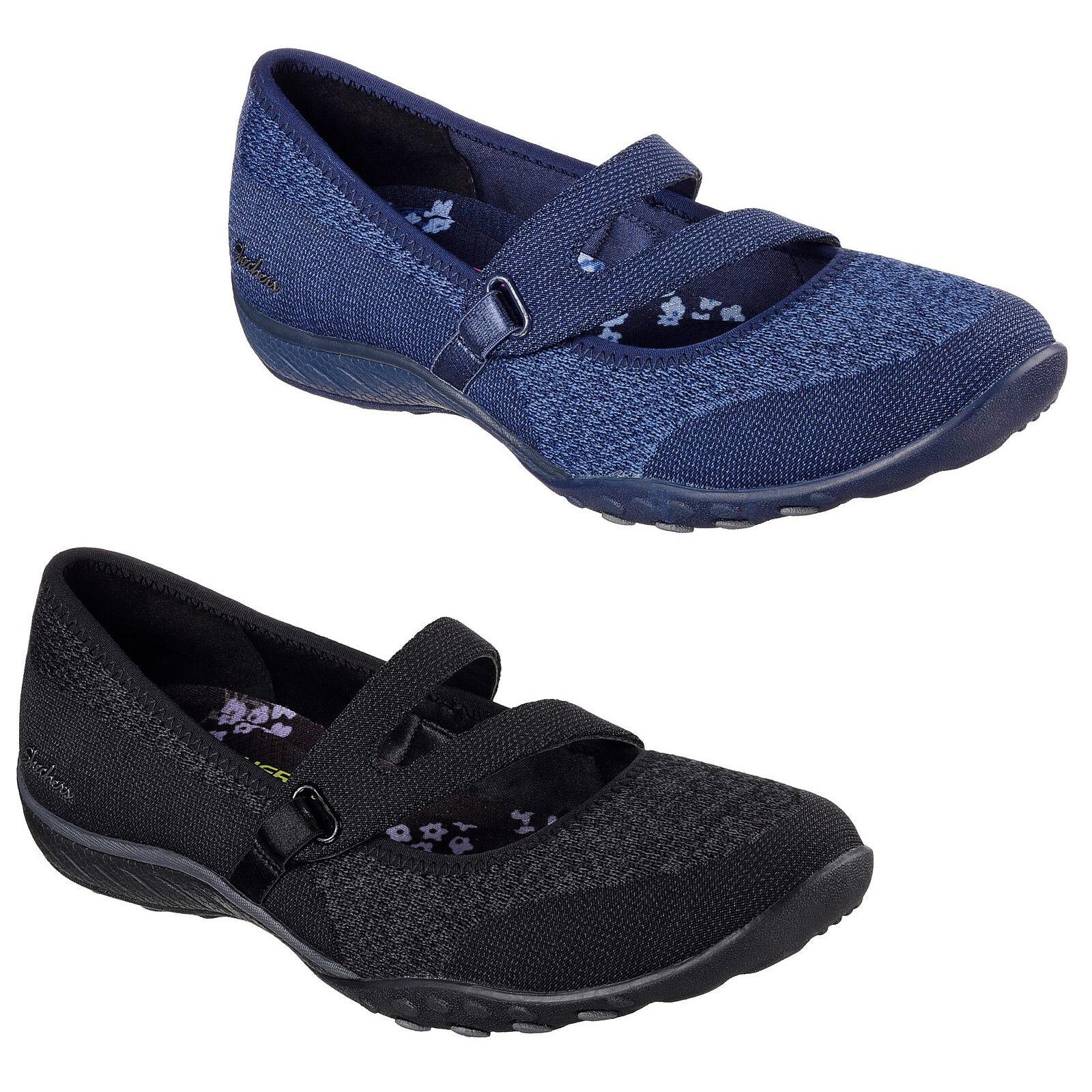 Skechers Relaxed Relaxed Relaxed Fit  Respirar Fácil-Zapatos Zapatillas para mujer Correa de día de suerte 23005  estar en gran demanda