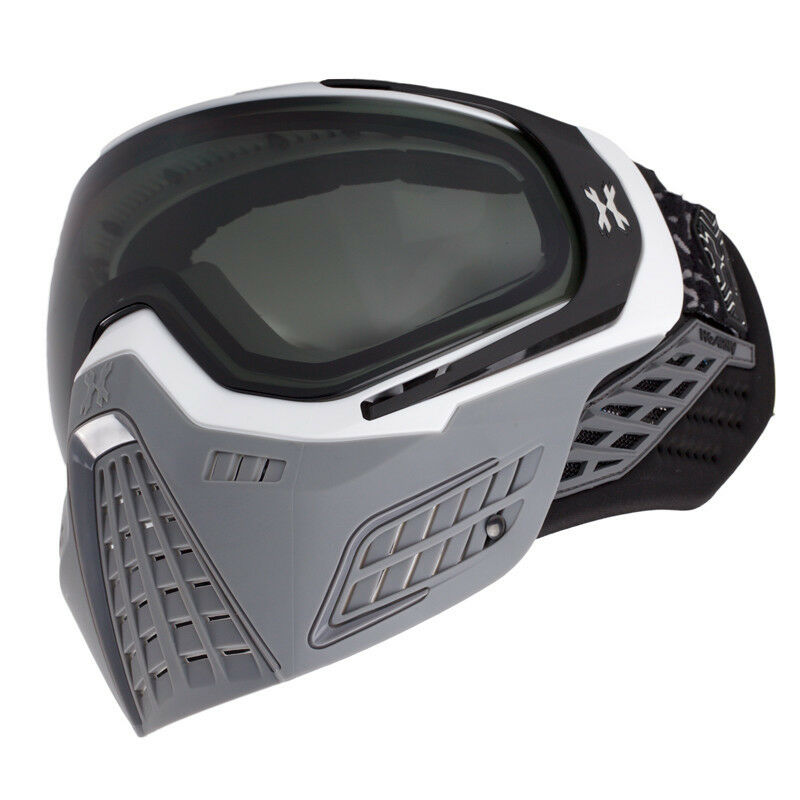 NEW HK Army KLR Paintball   Airsoft Mask - Slate White Grey