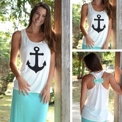 many color Fashion Womens Summer Casual Vest Tops Tank Sleeveless Shirt Blouse