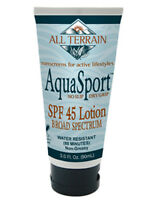 All Terrain Aquasport Spf45 Sunscreen Lotion 3 Oz
