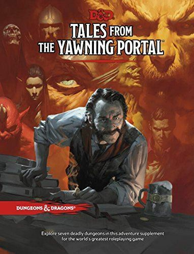 TALES FROM THE YAWNING PORTAL DUNGEONS AND DRAGONS - BOOK