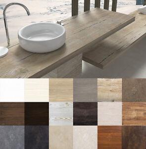 Mensola per lavabo top lavabo da appoggio in legno for Top per lavabo da appoggio ikea