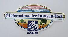 ADESIVI KNAUS Caravan Roulotte test 80er Sticker