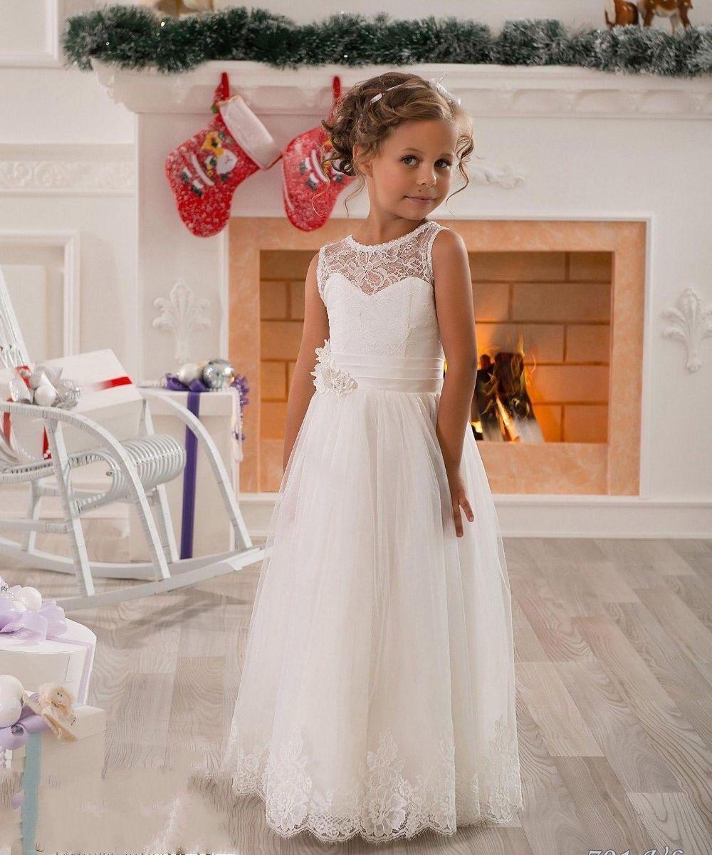 Baby Girl Birthday Wedding Party Formal Flower Girls Dress baby Pageant dresses