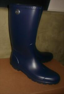 4c7e08a37c8 Details about UGG WOMEN'S NAVY SHELBY MATTE TALL RAINBOOTS US BOOT SIZE 11  NEW IN BOX