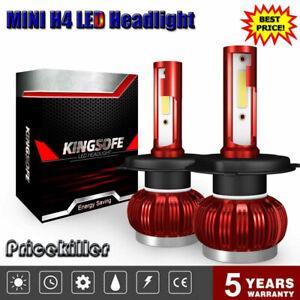 2x-MINI-COB-H4-1500W-225000LM-LED-Headlight-Kit-9003-HB2-6000K-Hi-Lo-Beam-Bulbs