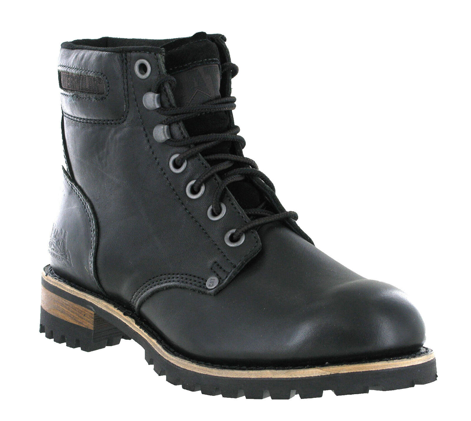 CAT Caterpillar Sequoia Non Safety Leather Mens Fashion Ankle Boots UK6-13