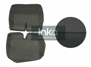 Replacement-OEM-Fabric-Seat-Cover-VW-T5-GP-Transporter-Rear-Double-Tasamo