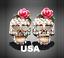 US-Seller-Betsey-Johnson-Halloween-Crystal-Sugar-Skull-Stud-Earrings thumbnail 1