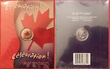 Proof Like 2004P Canada Day Color 25 Cents Sealed in Folder