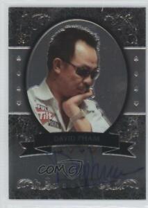 2012 Leaf Poker Metal #MBDP1 David Pham Auto