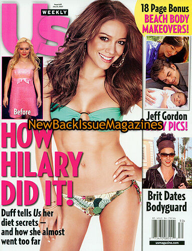 US Weekly 7/07,Hilary Duff,Tyra Banks,July 2007,NEW