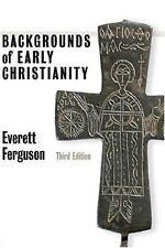Backgrounds of Early Christianity by Everett Ferguson (2003, Paperback)
