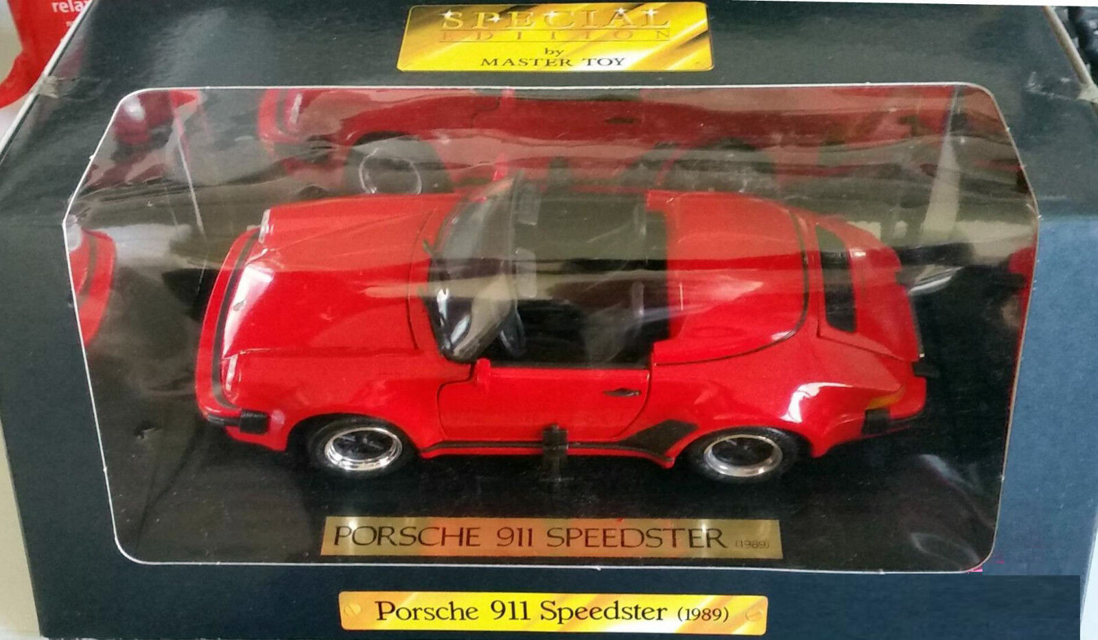 PORSCHE 911 SPEEDSTER 1989 Rouge MAISTO 1 18 mai52120