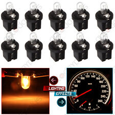 10X Amber Halogen Bulbs For Mercedes R129 W140 W170 W202 W210 Instrument Cluster