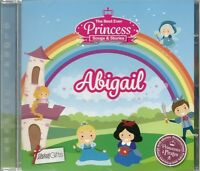 ABIGAIL THE BEST EVER PRINCESS SONGS AND STORIES PERSONALISED CHILDREN'S CD