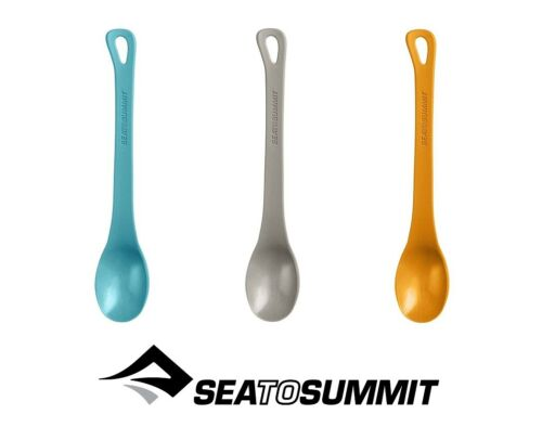 SEA TO SUMMIT DELTA LONG HANDLE SPOON LIGHT WEIGHT BPA FREE PP PLASTIC