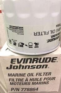 New Genuine OEM OMC Evinrude 502902 Marine Oil Filter Assembly