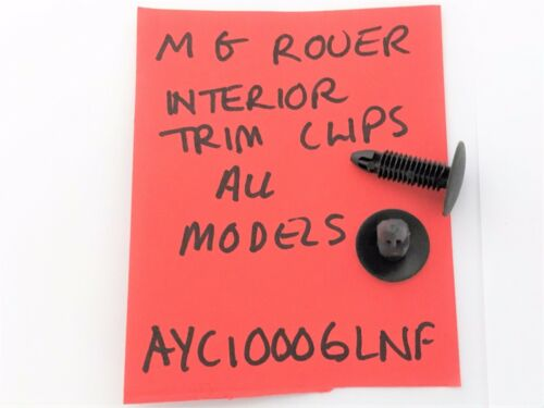 Mg Rover 200 25 400 45 ZR ZS 75 ZT Interior Trim Clip AYC 10006lnf
