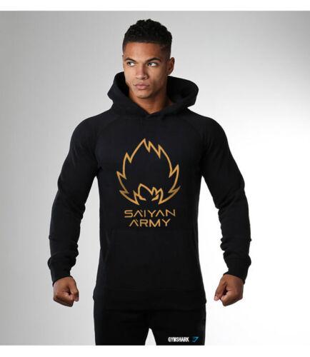 Men Gym Hoodies Fitness Bodybuilding Sweatshirt Crossfit Hooded Jacket Pullover