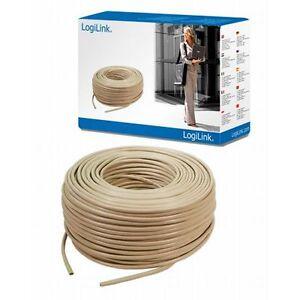cat 6 kabel 100m rolle patchkabel f r netzwerk netzwerkkabel utp cat6 0 25 eur m ebay. Black Bedroom Furniture Sets. Home Design Ideas