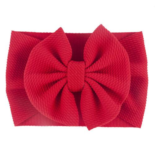 Baby Girl Hair Band Big Bow Headband Turban Knot Hair Accessory Head Wrap