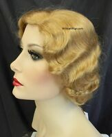 Finger Wave Fingerwave Wig .. Fab 1920's Style .... Color Choice