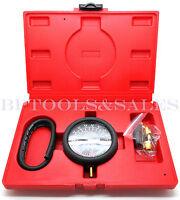 Fuel Pump & Vacuum Tester Carburetor Valve Pressure Tester Gauge Kit Car Truck