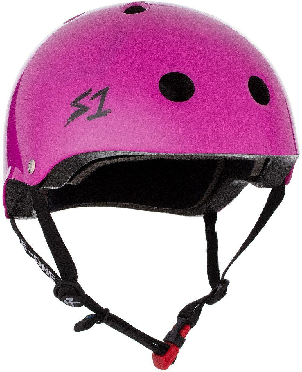 S1 Mini Lifer  Helmet - Bright Purple Gloss  high quaity