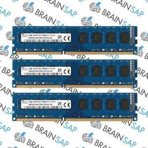 12GB-3x-4GB-DDR3-RAM-Hynix-HMT451U6AFR8C-PB-1Rx8-PC3-12800U-11-13-A1