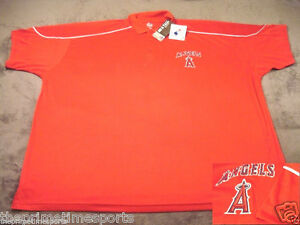 5d7623410 Image is loading Los-Angeles-Angels-Anaheim-MLB-Red-Majestic-Polyester-