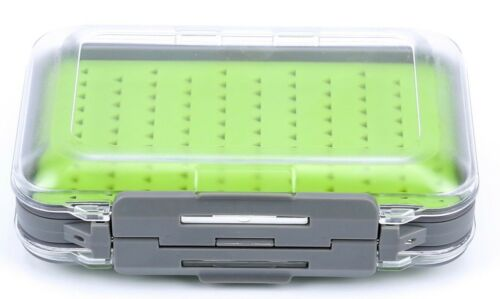 Large Waterproof Double Sided Jig//Fly Box with Silicone Insert Waterproof