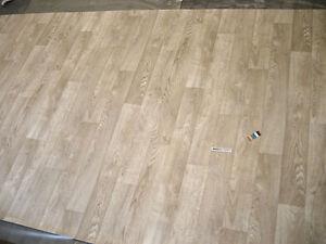 7871 PVC Belag Rest 178x499 Eiche creme beige Holzdekor robuster ...