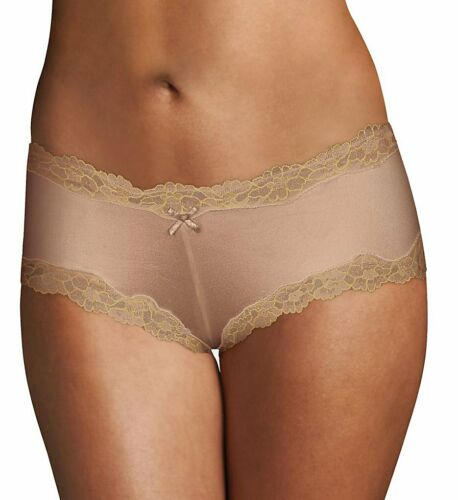 Details about  /Maidenform 40823 Cheeky Microfiber Hipster Panty with Lace