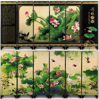 24.5 Cm Home Desktop Screen Decoration Chinese Style Antique Lotus 47 Cm