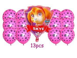 Paw Patrol Skye Dog Foil Helium Quality Balloon Girls Party Decoration