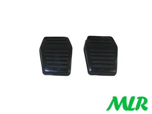 Ford Escort MK1 MK2 Freno /& Embrague Pedal Cauchos almohadilla de plástico ceniza MLR.