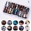 10Pcs-Holographic-Nail-Foil-Set-Transparent-Starry-Sky-Nail-Art-Transfer-Sticker thumbnail 28