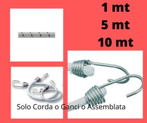 CORDA-ELASTICA-8-mm-BIANCO-NERA-CAMION-AUTO-CARAVAN-BARCA-VARIE-MISURE