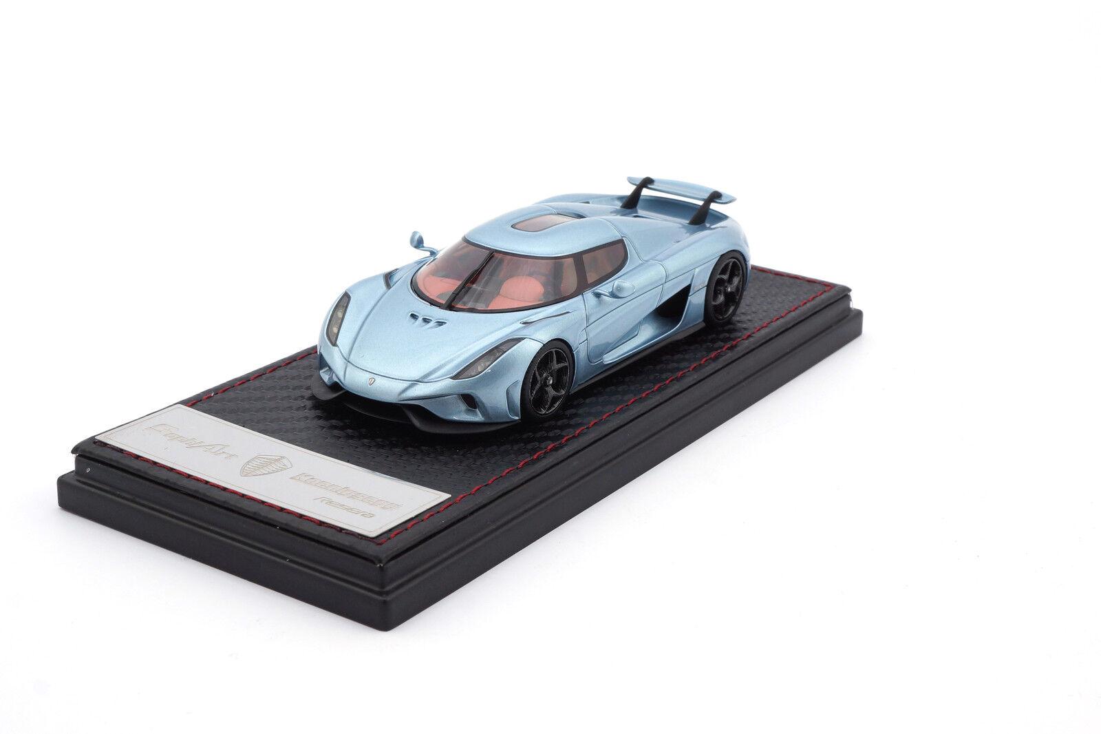 sa001-76 - FRONTIART/sophiart Koenigsegg regera-Horizon blu blu blu - 1:43 634275