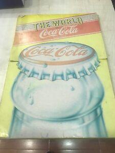 RACCOGLITORE-COMPLETO-DI-STICKERS-CALENDARIO-1986-THE-WORLD-OF-COCA-COLA