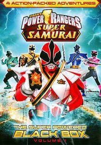 Power Rangers Super Samurai !! Vol. 1: The Super Powered Black Box (DVD, 2012)