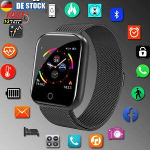 Bluetooth Smartwatch Sportuhr Uhr Pulsuhr Blutdruck Fitness Tracker Armband DHL