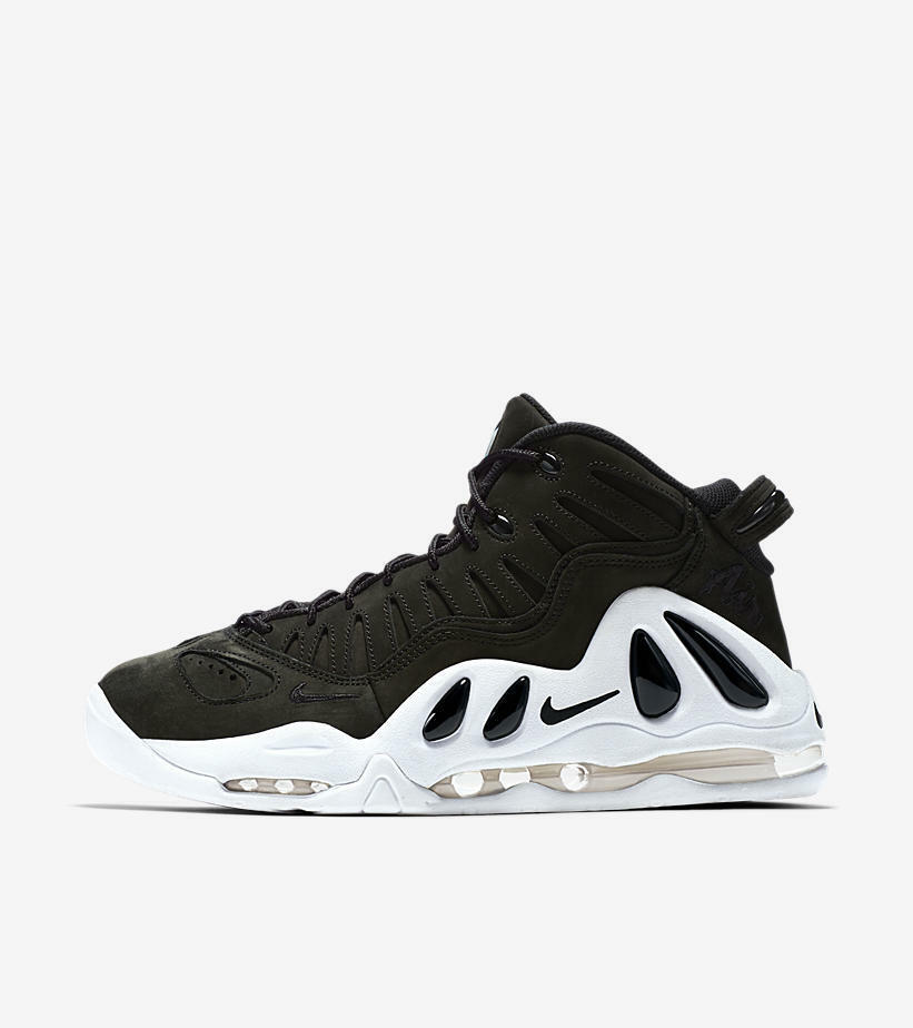 NIKE AIR MAX UPTEMPO 97 Black White Oreo 399207-004 DS SIZE 10.5